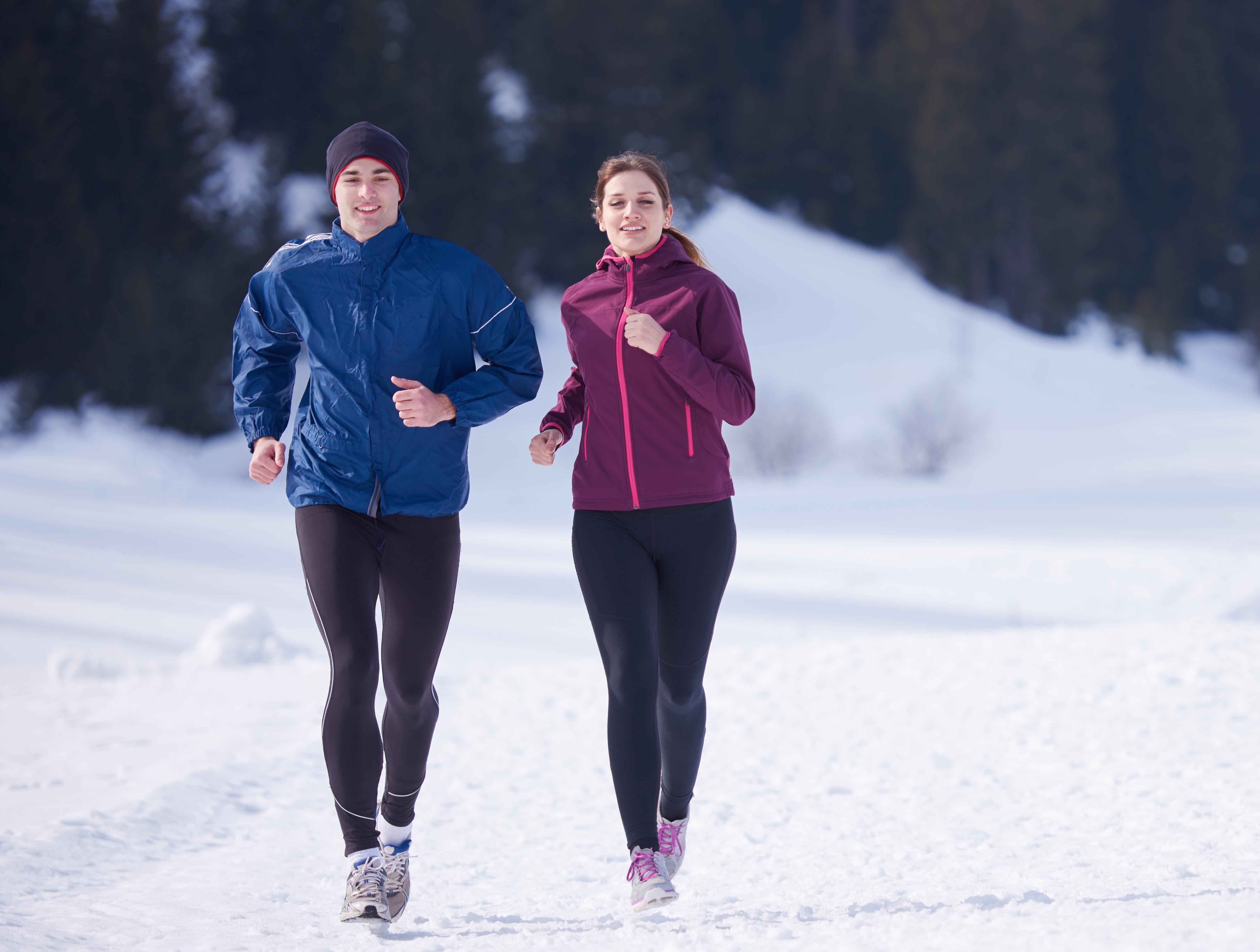 Как Бегать По Утрам Зимой Для Похудения.