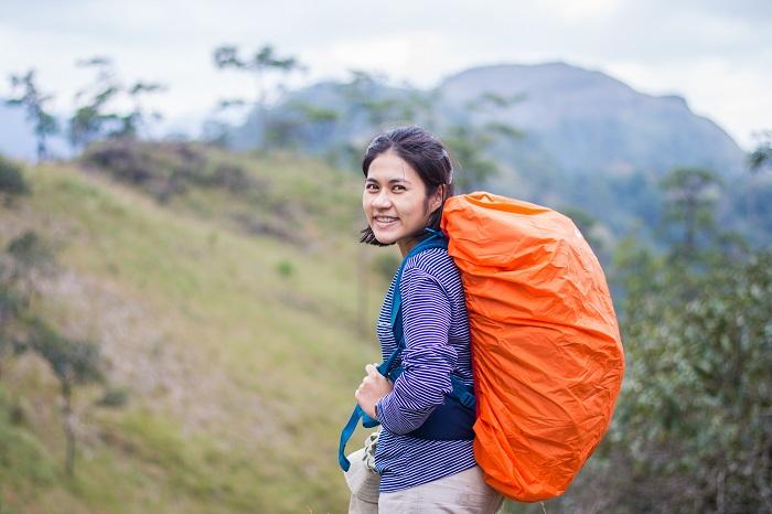 Rain covers backpack