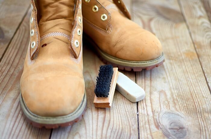 Waterproof Leather Work Boots With Beeswax